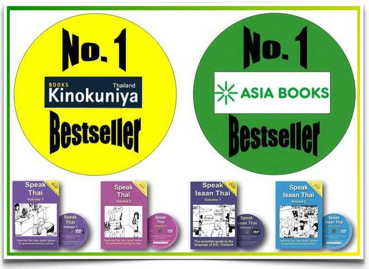No.1 Bestseller in Thailand Bookstores