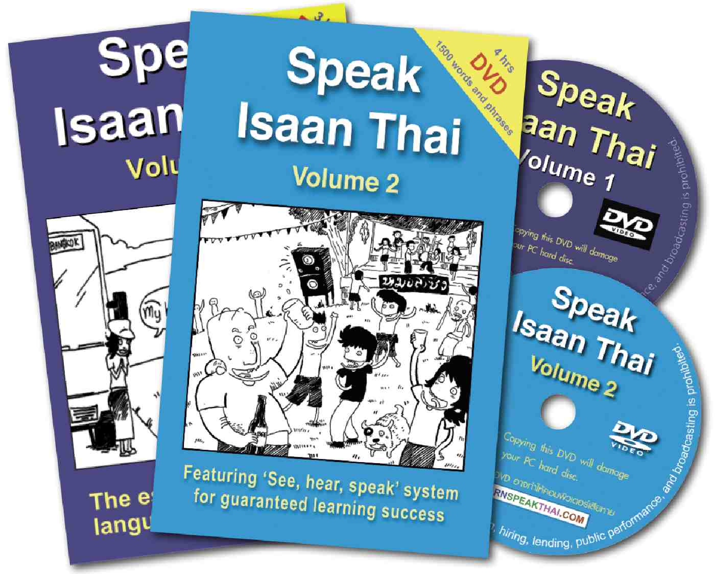 The Complete Speak Isaan Thai 1 and 2