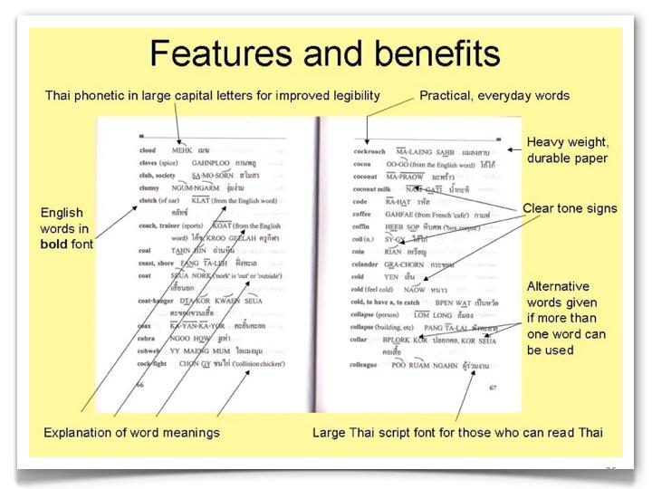 English Thai Dictionary Benefits