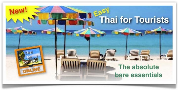 Thai for Tourists Beach Banner