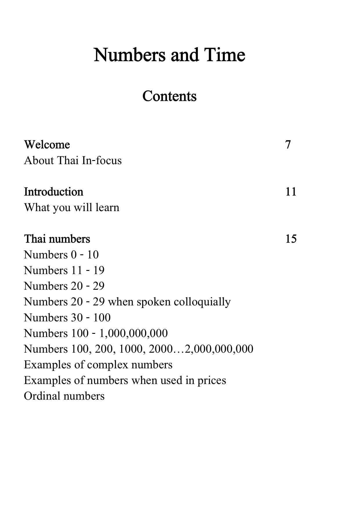 Thai Infocus Numbers content 1