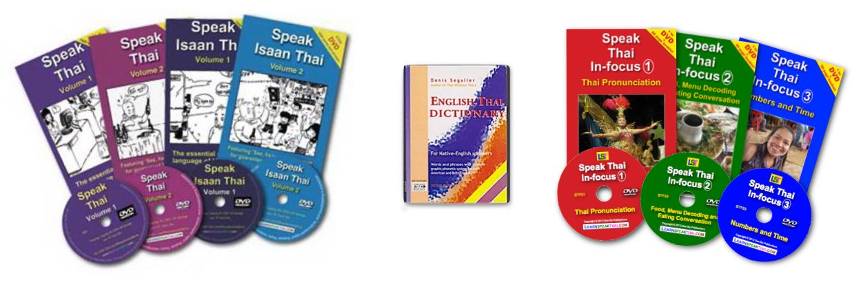 Learn Speak Thai Books Range