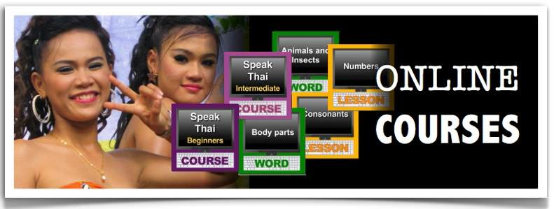 Learn Thai  Book + DVD or Online - Speak Thai