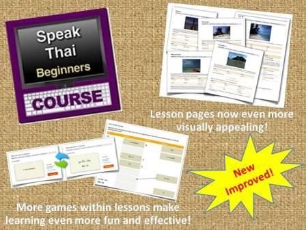 New Improved Thai Beginners Online Course