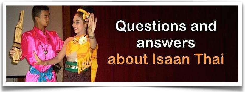 Q&A About Isaan Thai Language