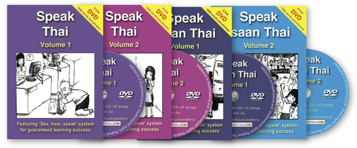 Learn Thai Books Range