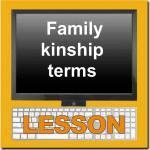 Thai Family Kinship Terms Online Lesson Logo