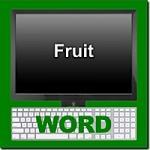Online Word Logo for Thai Fruit