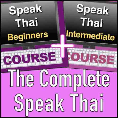 The complete Speak Thai Online Course