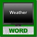 Weather Word Module