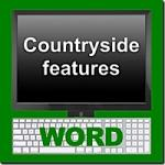 Countryside Features Word Module